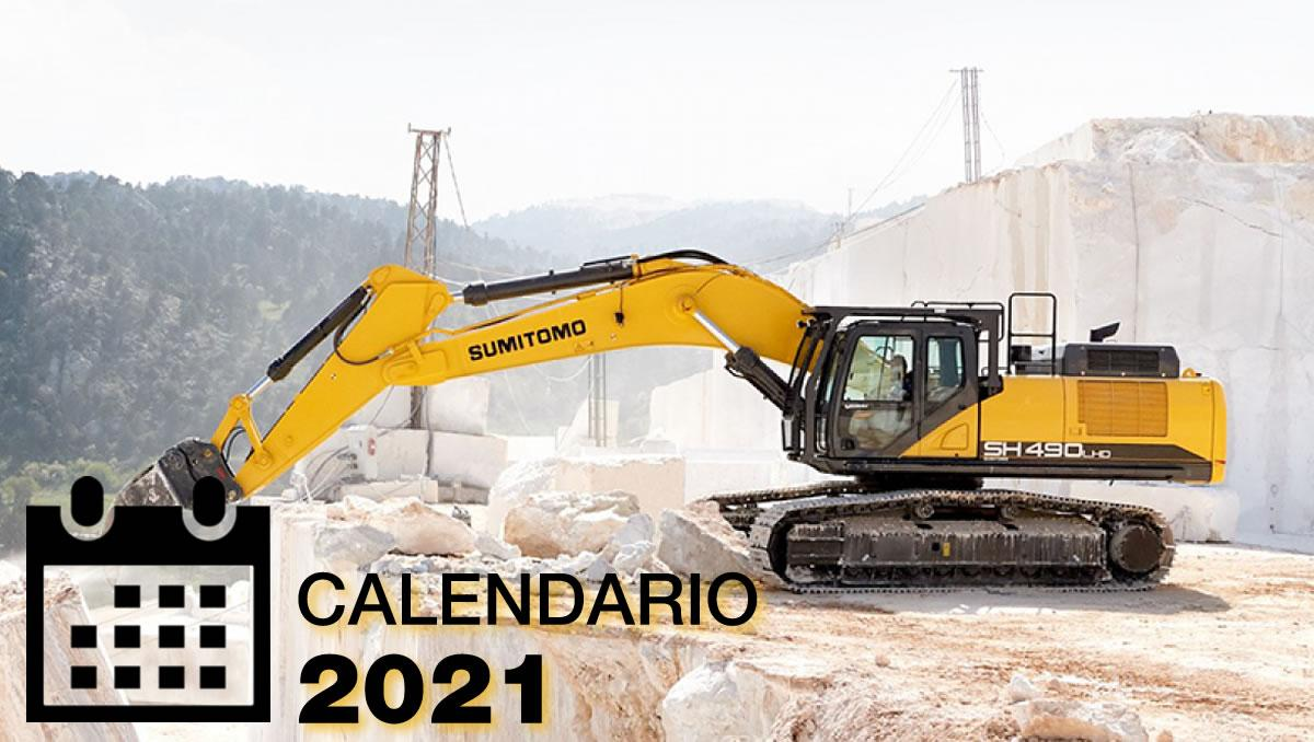 Asinado o calendario do sector para o ano 2021